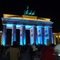 Brandenburger Tor during festival of light in October, 4.9 km, easy reachable by bike