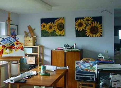 Helgas Atelier / Helga's studio / Atelier d'Helga