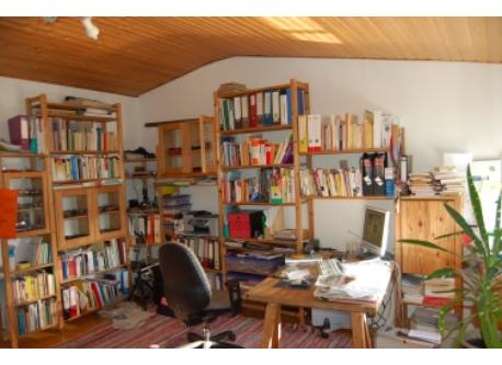 Helmut`s working and sleeping room
