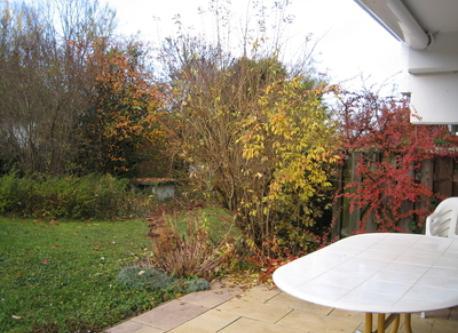 the veranda in autumn