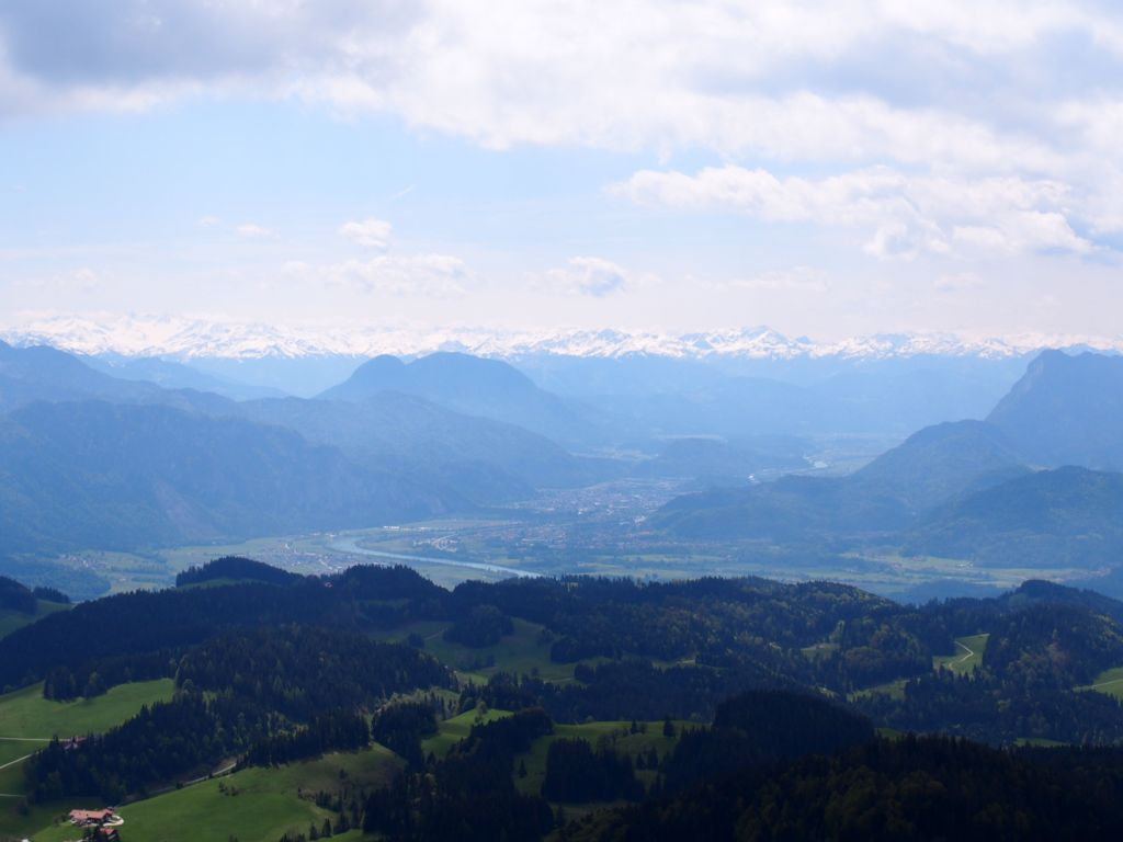View from the summit of Mount Spitzstein