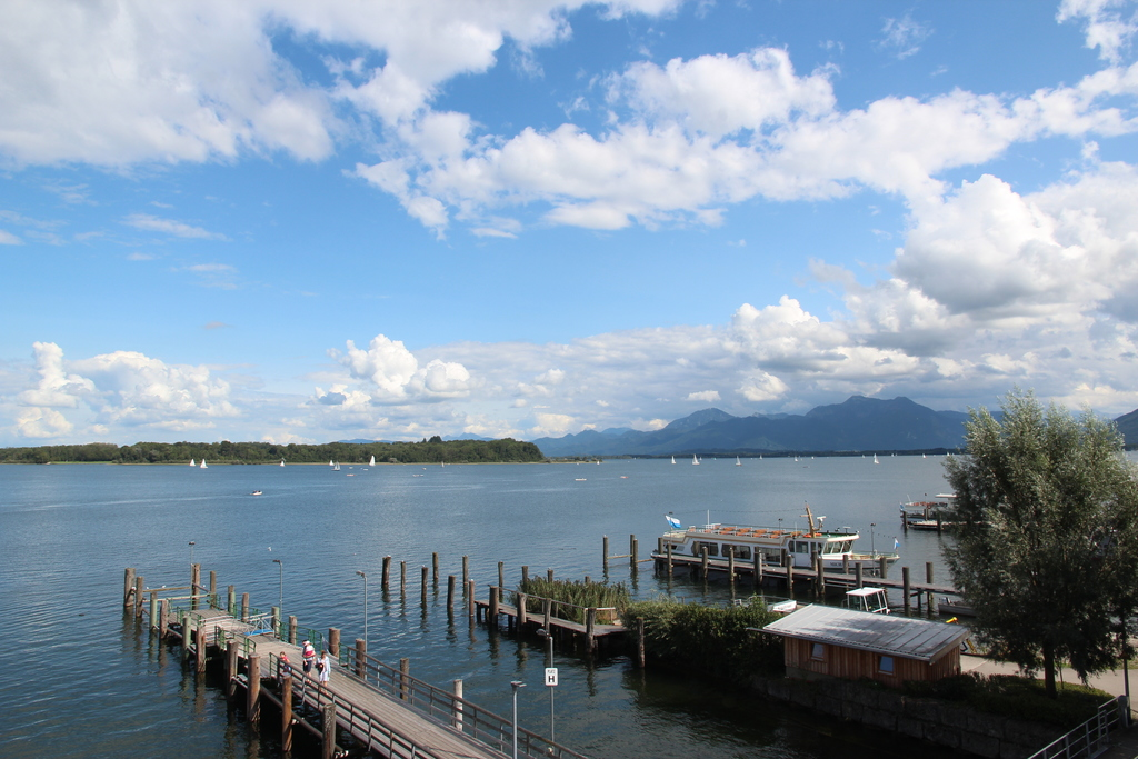 By boat to the Islands of Lake Chiemsee