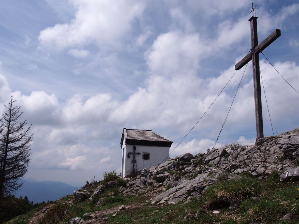 Summit of Mount Spitzstein, easy hiking tour