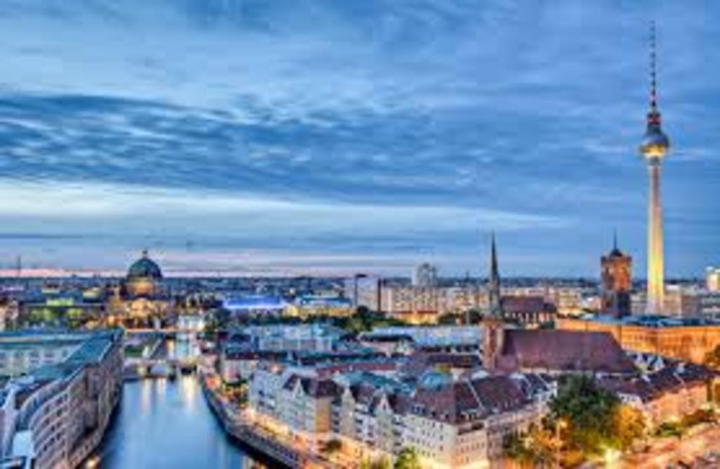 Germanys Capital Berlin is 2-3 hours away