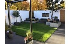 New and modern  house, all on one floor with big terrasse in a quiet surrounding