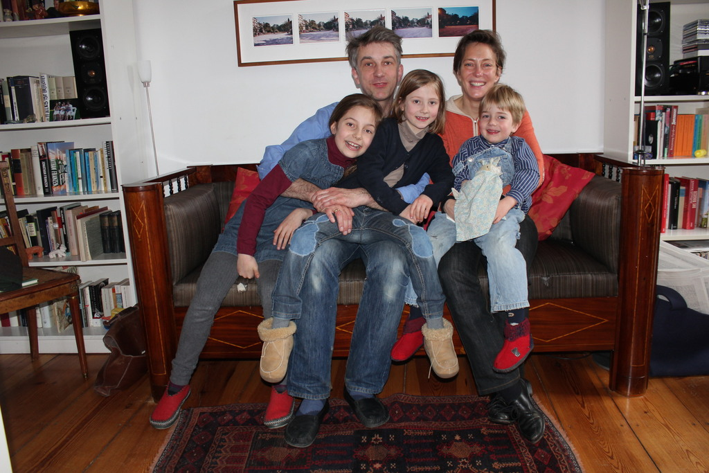 Our familiy in 2013 when we started exchanging our home.....