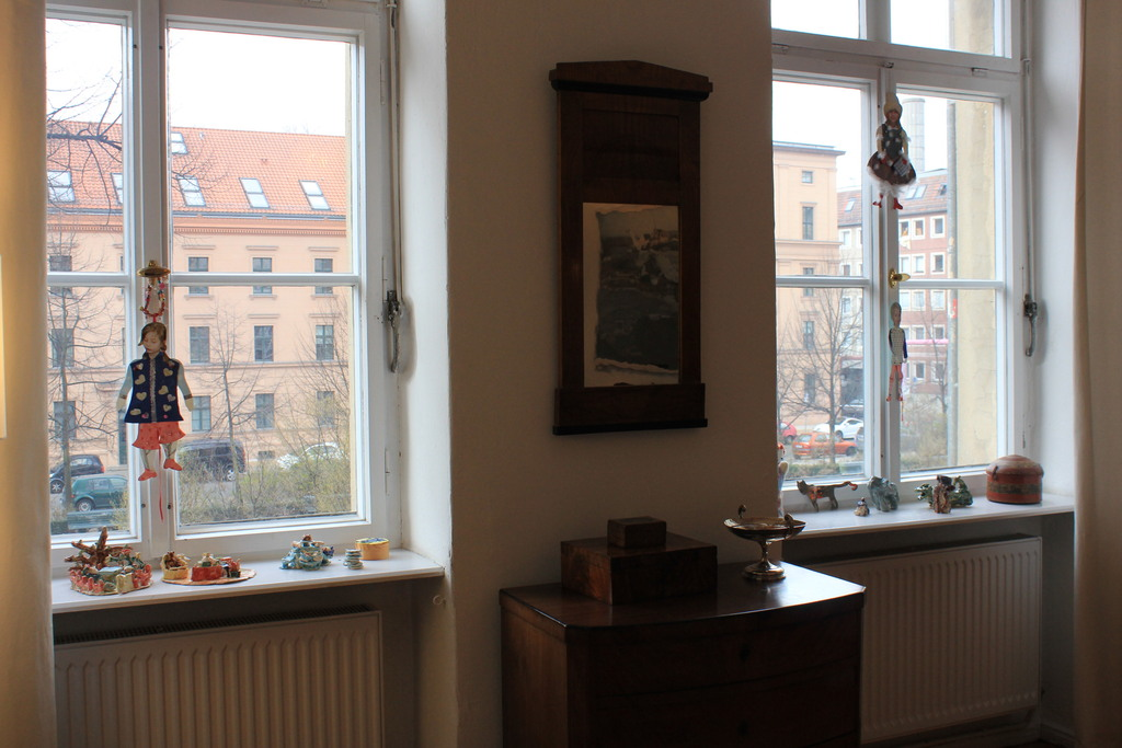 dining room - view to the Koppenplatz