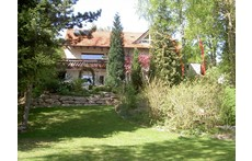 House with huge garden