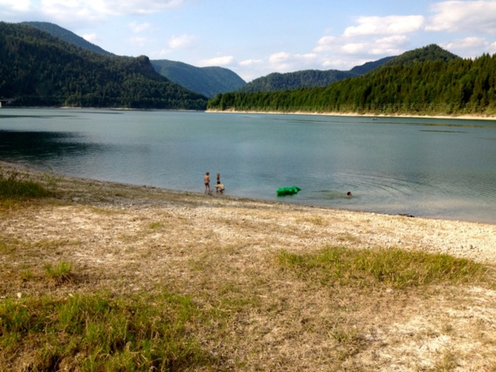 Sylvensteinsee (25 minutes by car)