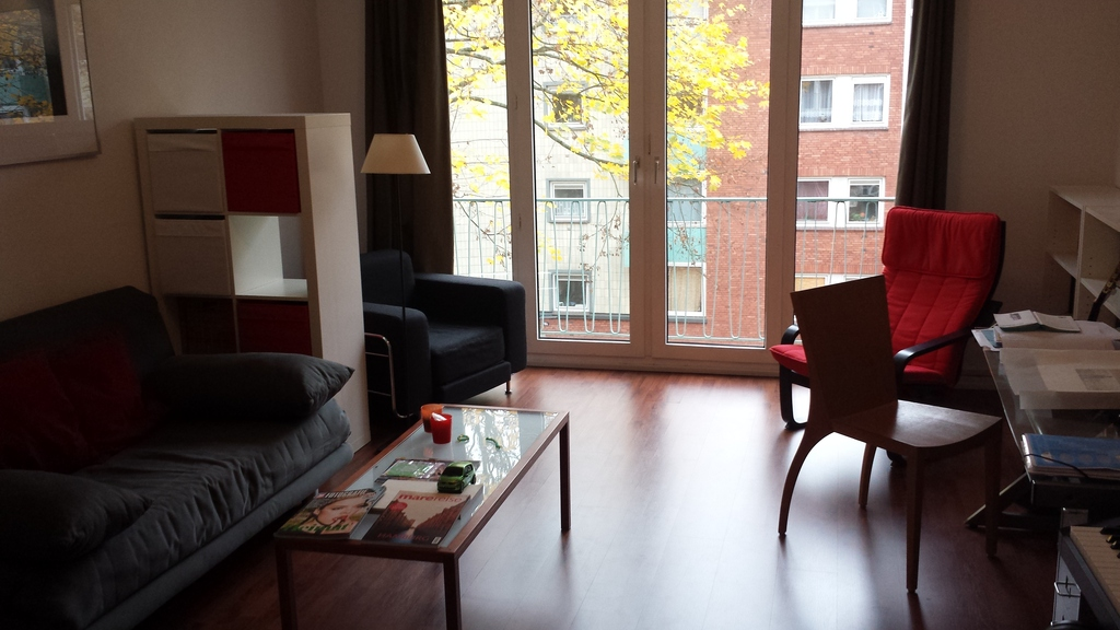 Special: A short trip to Hamburg? living room with 3 day beds....