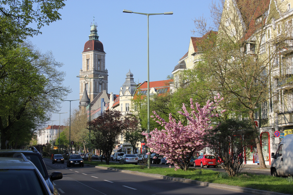.... into one of the nicest districts of Berlin