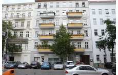 our flat: 2nd/3rd/4rd yellow balcony - right side