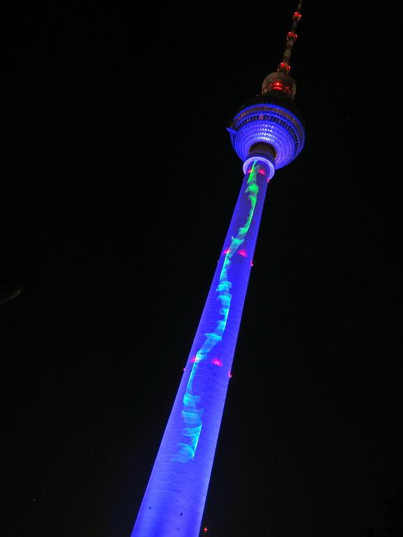 tv tower at alexanderplatz