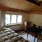 schlafzimmer für 2 personen im vorderhaus, ehemalige sakristei