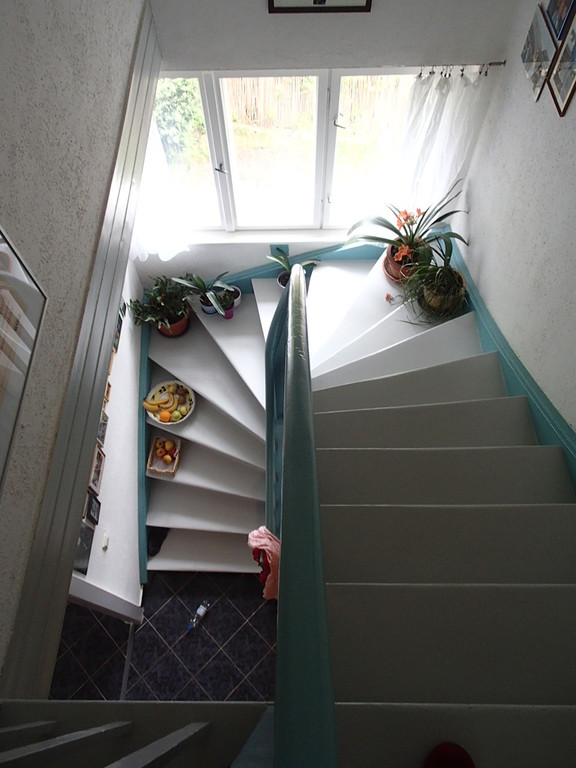 treppenaufgang in die obere etage