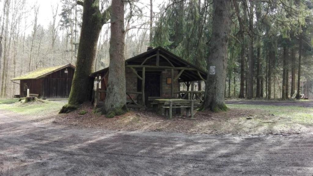 Odenwald, steinerner Tisch
