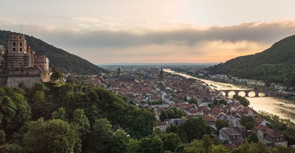 Heidelberg, Schloss, Stadt und Neckar
