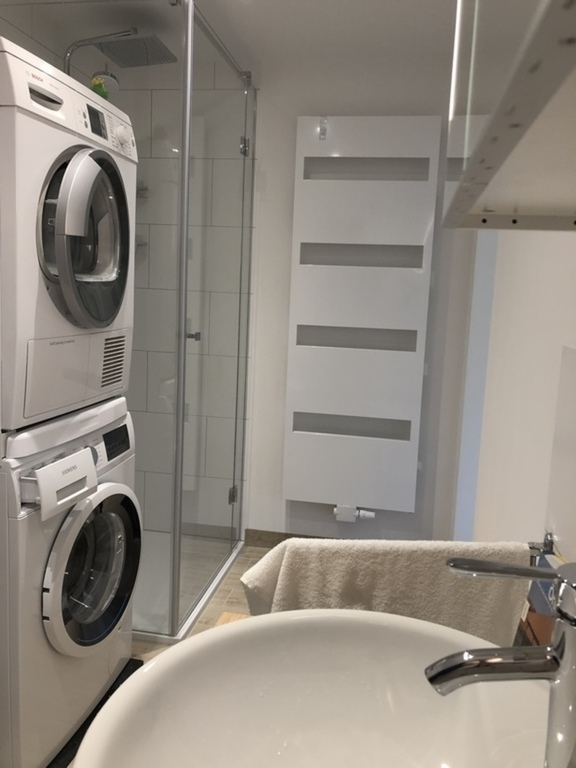 Bathroom ground floor and washing
