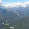 Aussicht von der Zugspitze - Garmisch-Partenkirchen