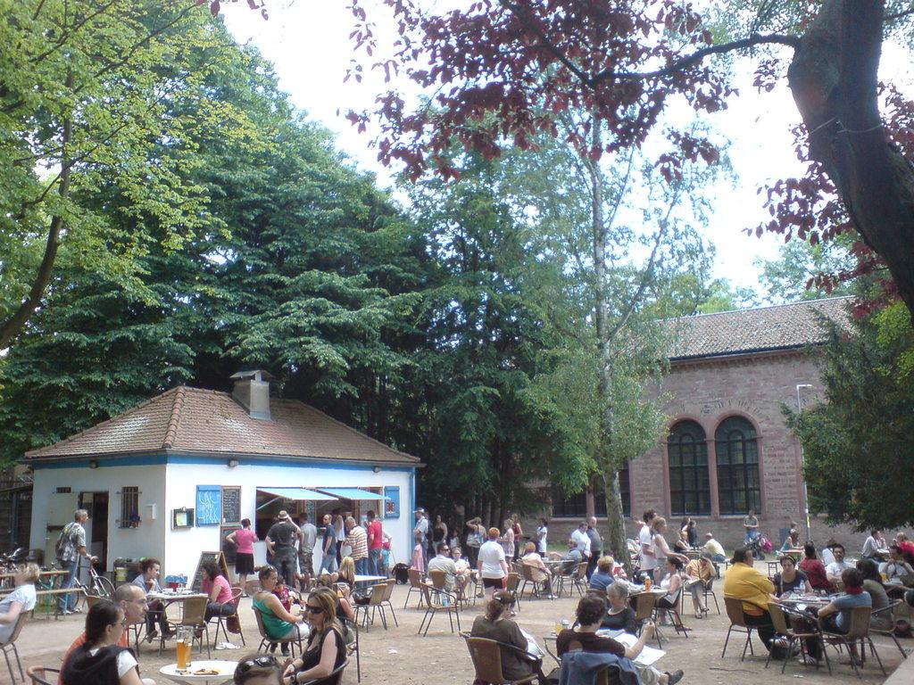 Cafe im Günthersburgpark - Frankfurt 15 min by foot