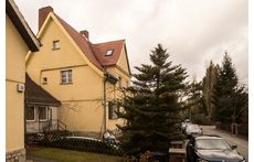 Our semi-detached house in a quiet  neighborhood