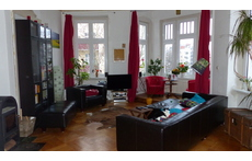 Das Erkerzimmer-Room with a bay window