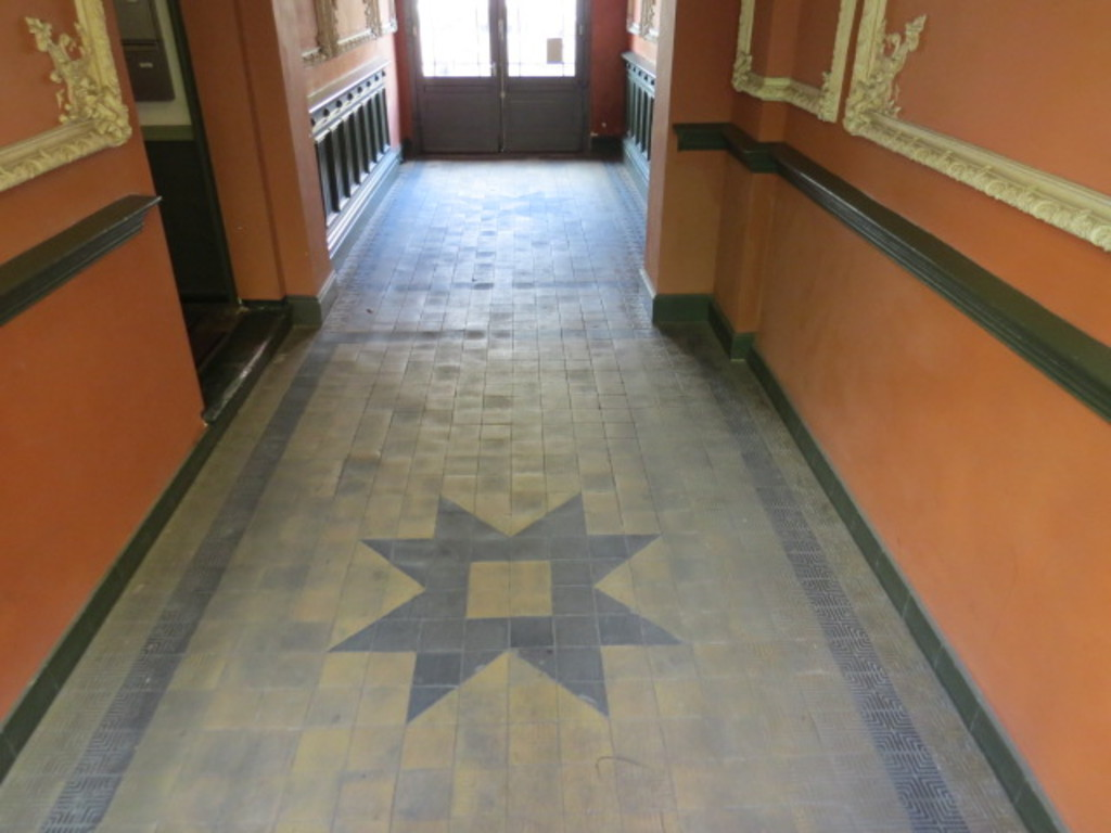 Entrance hall detail