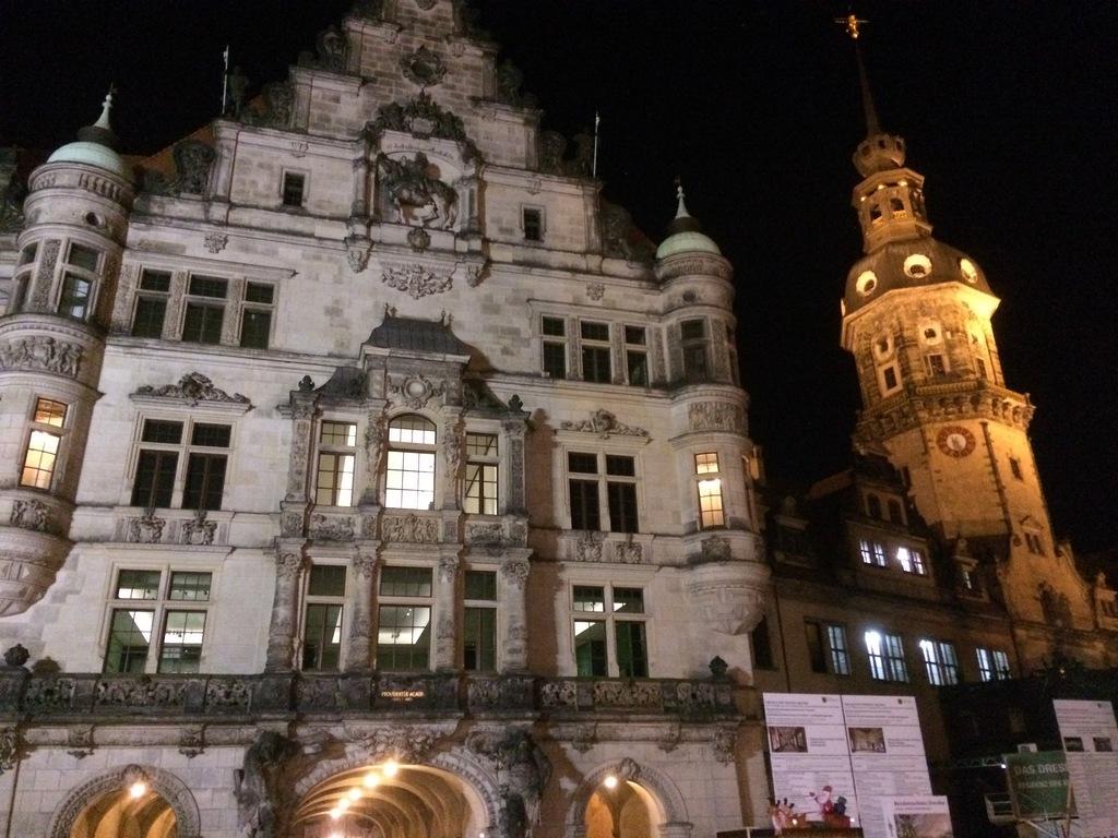 Altstadt by night