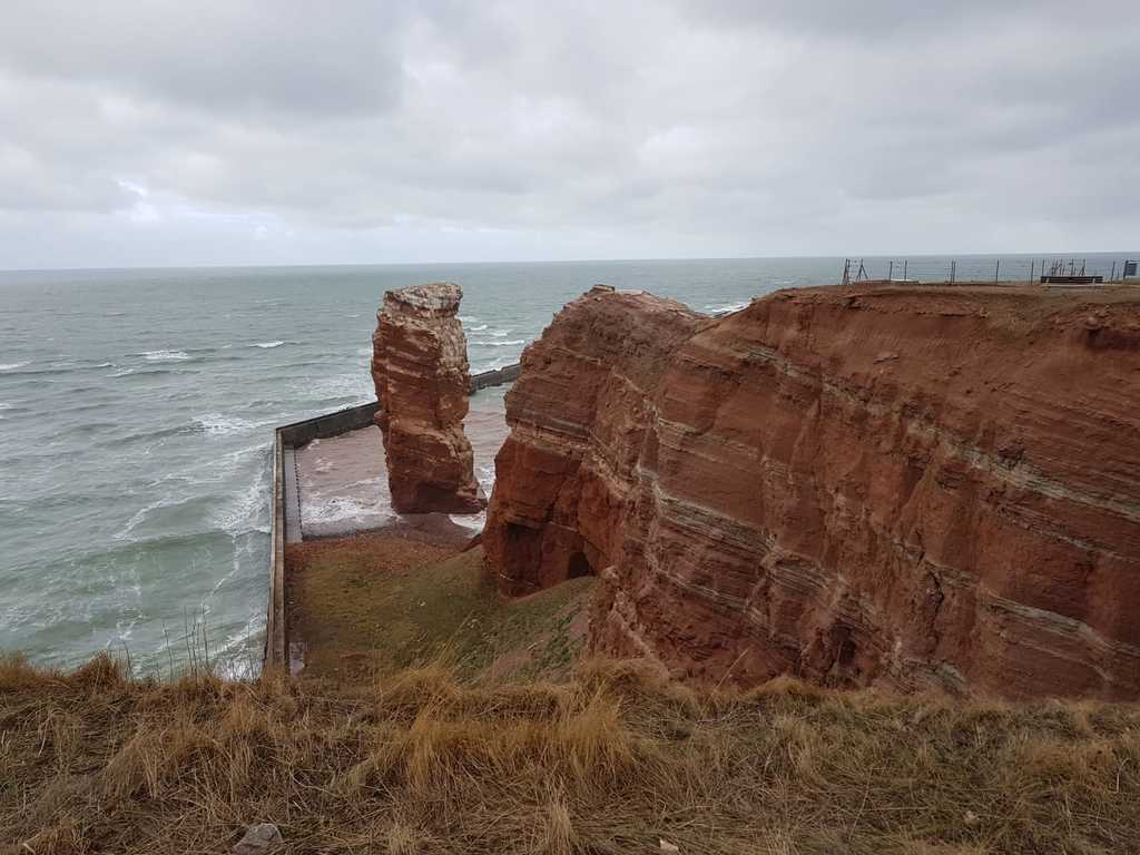 Helgoland, little Island North Sea