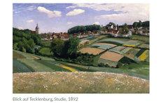 Tecklenburg, Bild von Otto Modersohn