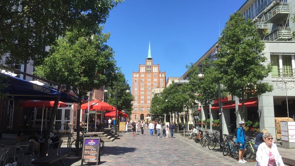 Breite Straße in Rostock