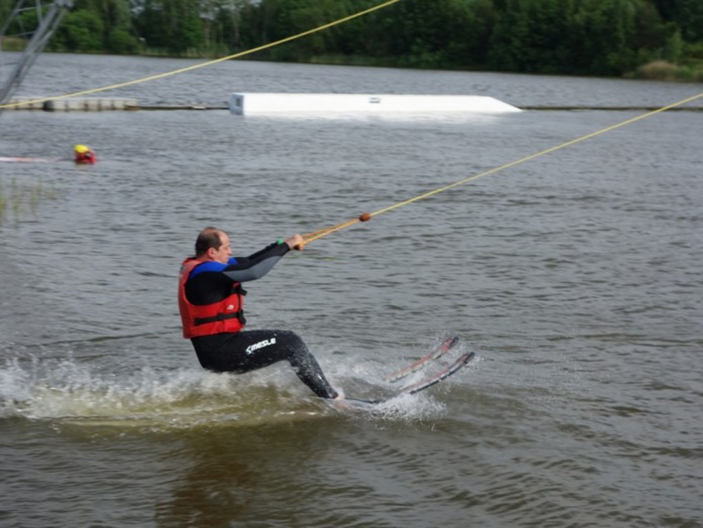 Water-skiing in Körkwitz / Wasserski in Körkwitz