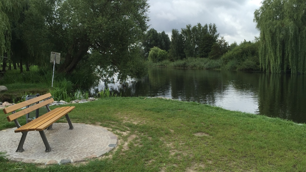 River Warnow best qualified for canoe tours / Blick auf die Warnow auf der man wunderbar Kanutouren durchführen kann