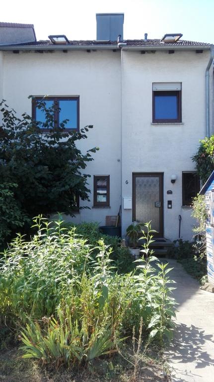 Eingang zum Reihenhaus in Giebelstadt
