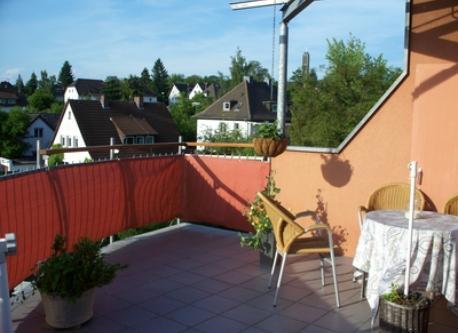 we love our upper terrace in Marburg