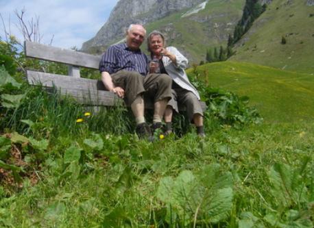 Wandern in der Schweiz 2013