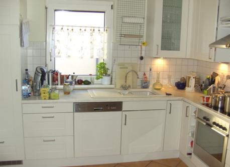 Part of the kitchen(today we have a modern automatic coffeemachine)