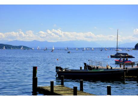 Munich: Starnberger See - a 15 minutes drive from our home