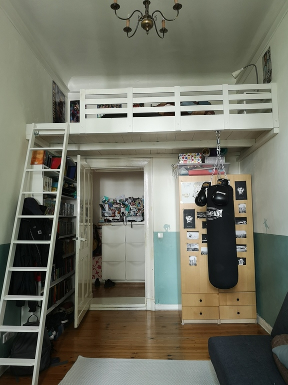 Nikolai's room with loft bed