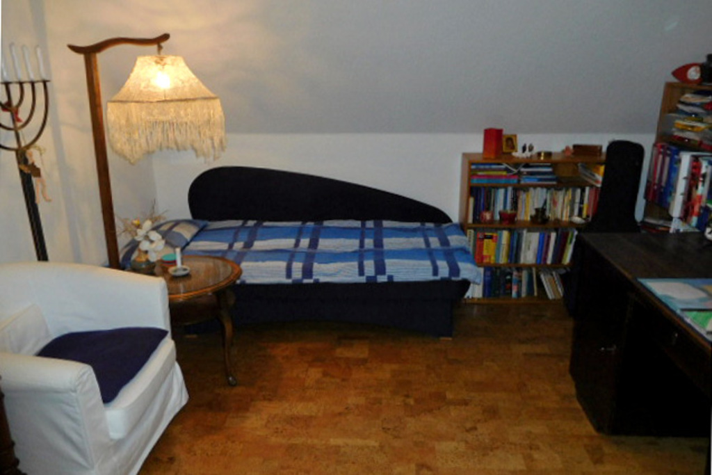Study with daybed (2m long)