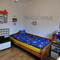 Nursery with bed (2m long)