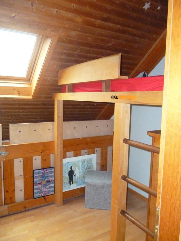 children room (second floor with high bed in it)