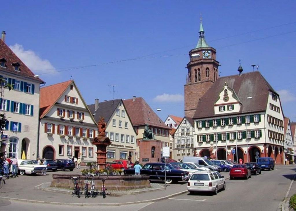 Weil der Stadt, Market place