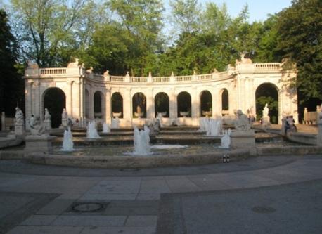 Märchenbrunnen ,Volkspark Friedrichshain