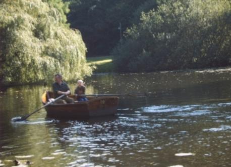 Bootstour im Bürgerpark