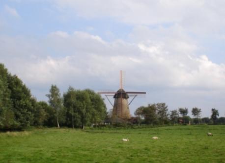 Windmill in Laar