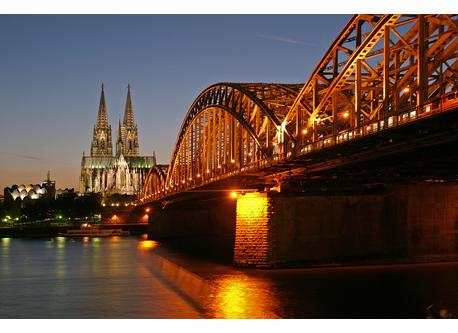 Cologne Cathedral & bridge
