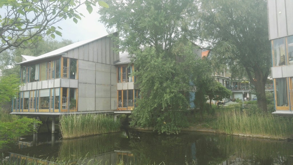 house from lakeside