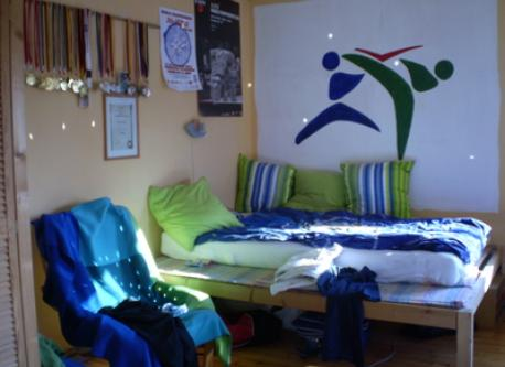 one of the child's rooms