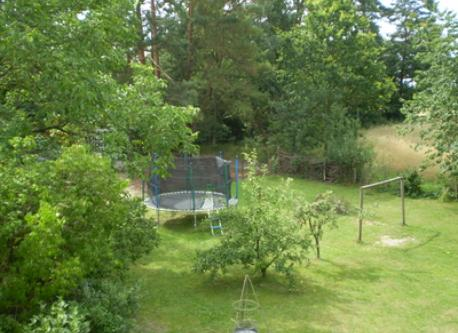 our garden with big playground